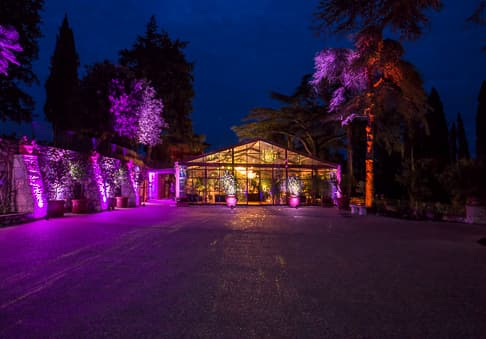 Matrimonio a Villa Mussio - greenhouse party