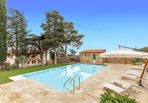 Villa Mussio - the pool