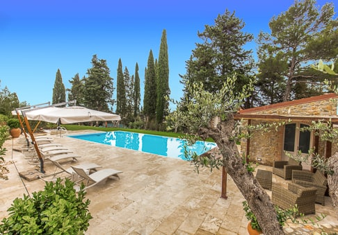 Villa Mussio - villa with pool in Tuscany Italy