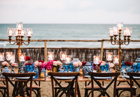 Wedding at Villa Mussio - esclusive party on the private beach