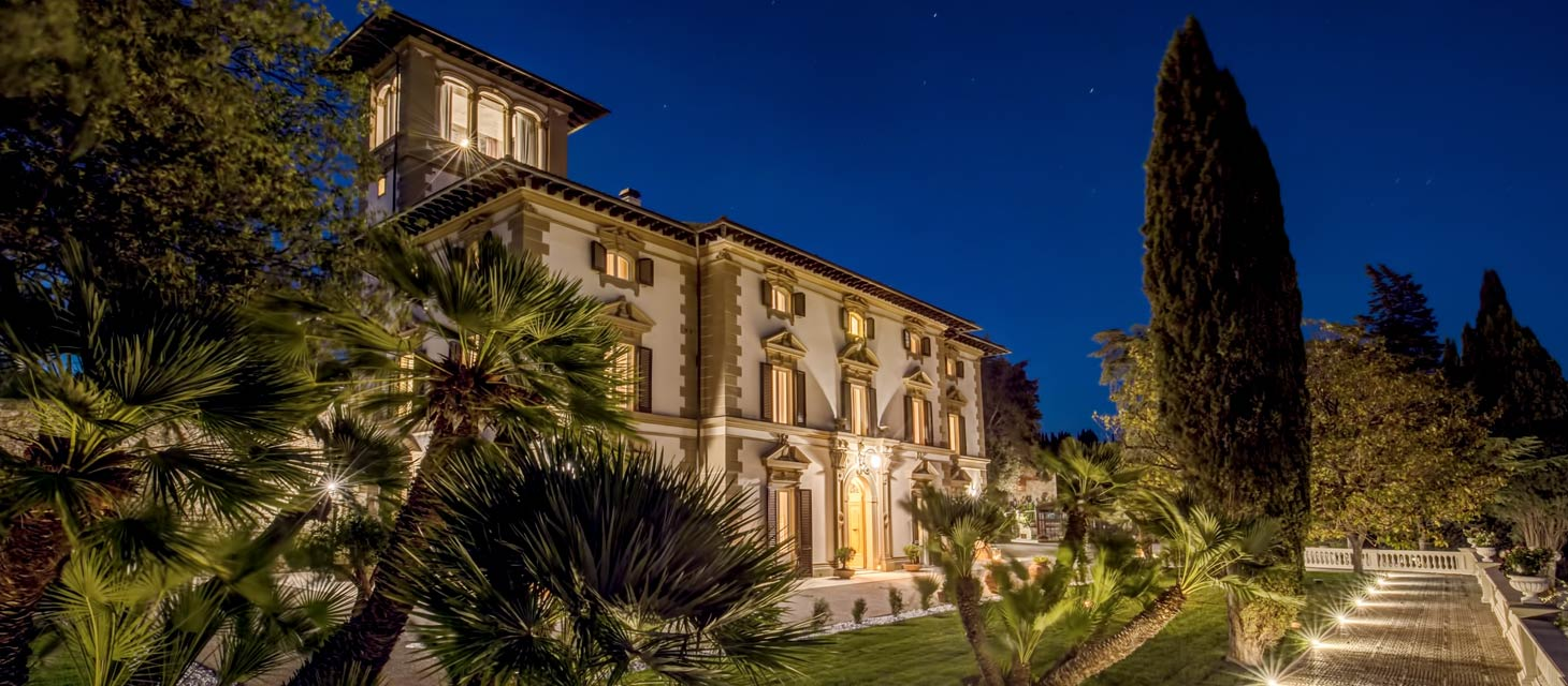 Villa Mussio - by night